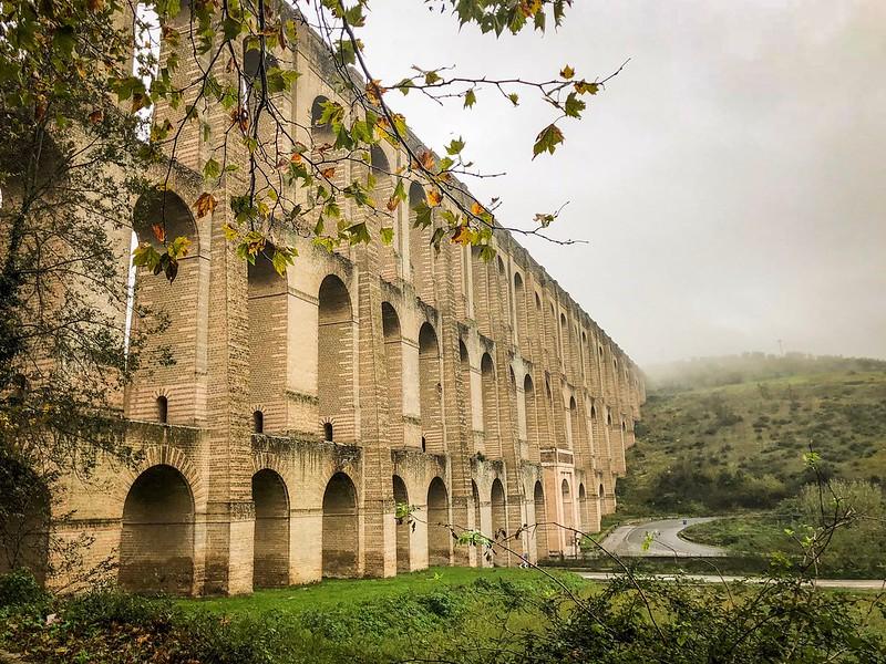 ❤️ Autumn whit Acquedotto Carolino XVIII sec. ( BN- BUCCIANO,Italy )