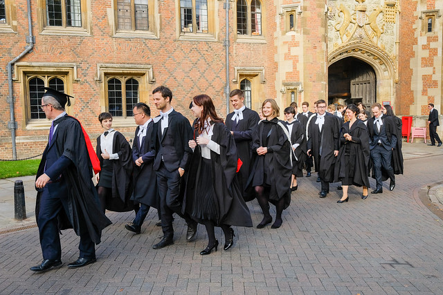 Cambridge Graduation 20 Oct 2018