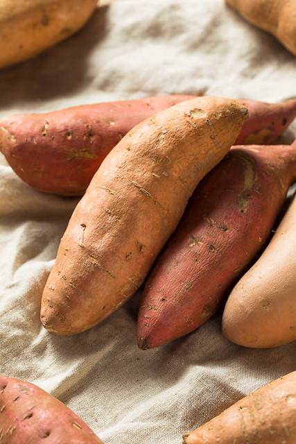 Raw Organic Assorted Sweet Potatoes