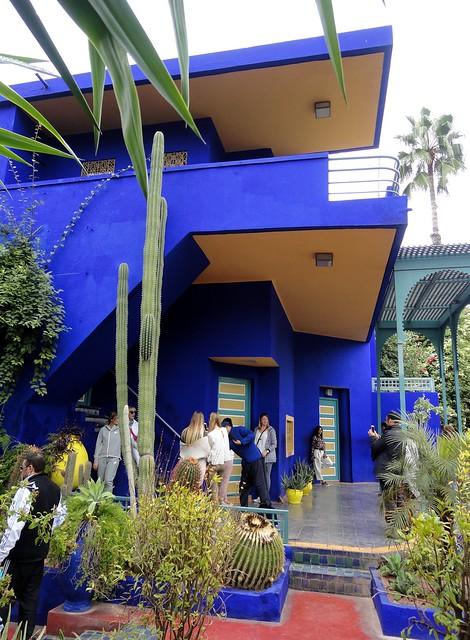 Marrakech - Jardin Majorelle - blue majorelle
