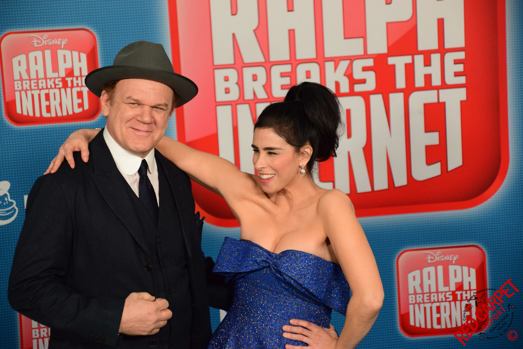 John C Reilly Sarah Silverman At Disney S Ralph Breaks Flickr