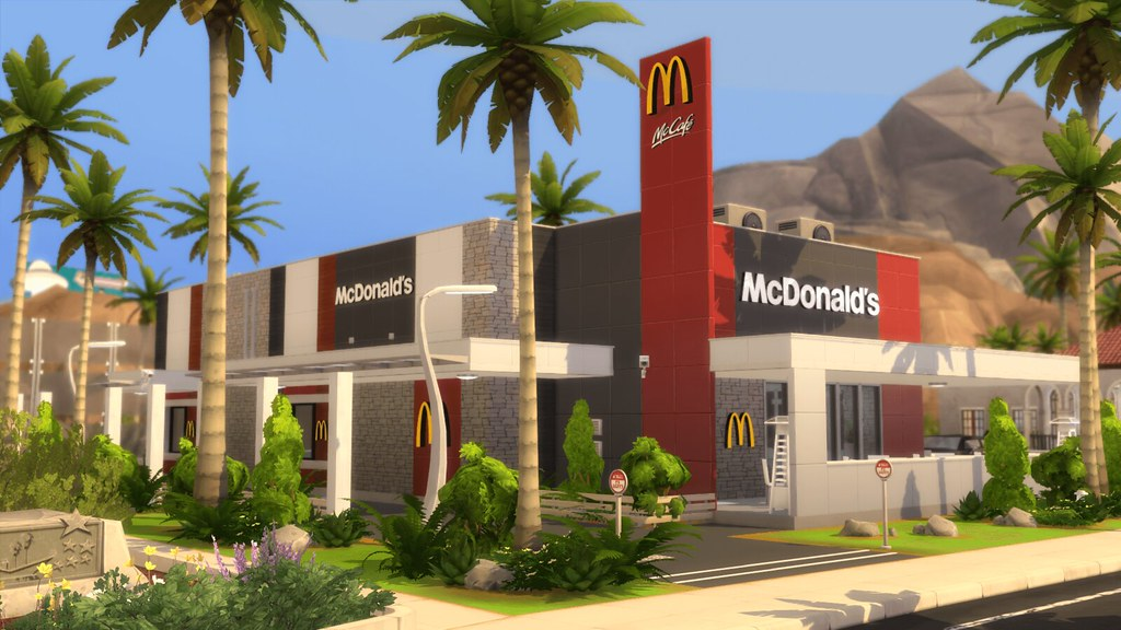 McDonald's Restaurant #1 - RomerJon17 Productions | Ansett4Sims