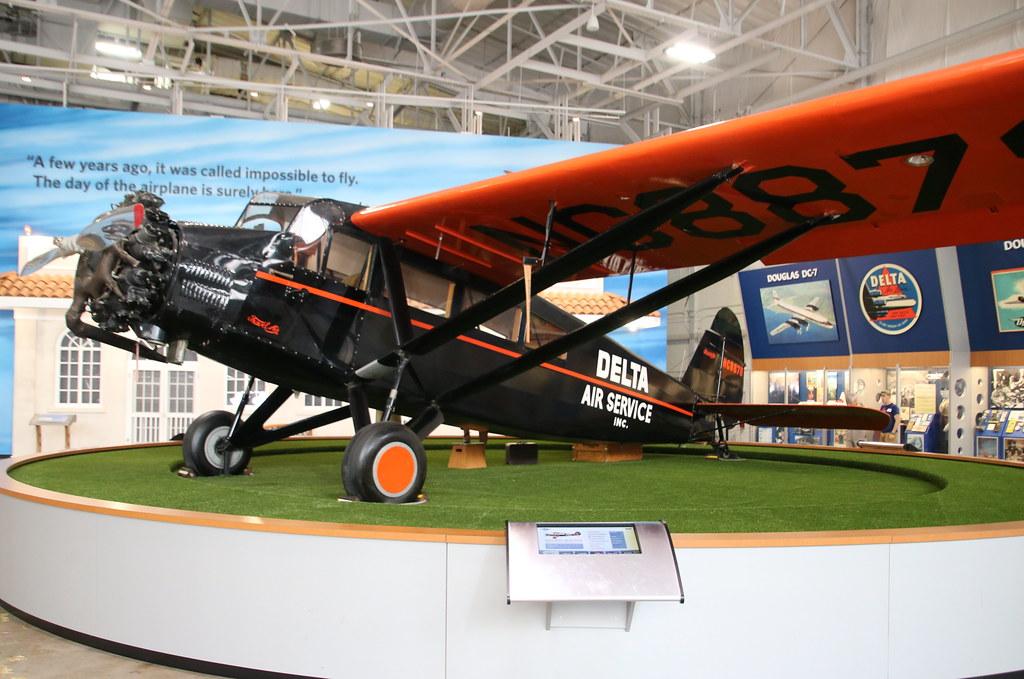 Curtiss-Wright Travel Air S-6000 N8878 Atlanta 14/07/18