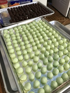 Cream Cheese Mint Truffles   by christmasnotebook
