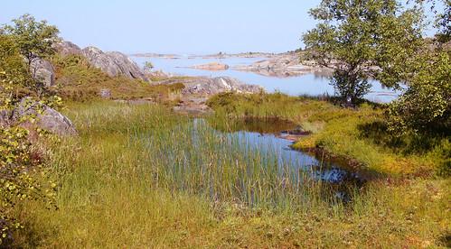 sea lake archipelaga sweden sony a55v photoshop island stockholm