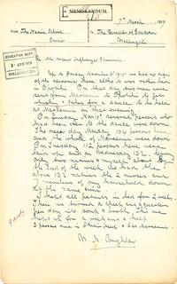 Omaio Māori School - 1918 Influenza