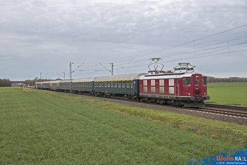Re 4.4-I 10019 CBB ex SBB-CFF . DLr 89161 . Büttgen . 01.11.18.