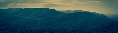 catskill mountains overlook mountain fire tower monochrome mono pano panorama panoramic wild outdoors hiking hike outside new york ny woodstock upstate nikon d610 rgrennan ryan grennan rwgrennan summer catskills