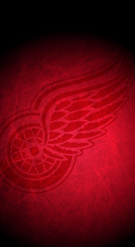Detroit Red Wings Nhl Iphone X Xs Xr Home Screen Wallpap