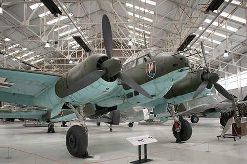 Junkers Ju-88 at the RAF Museum Cosford