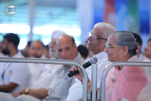 Member Executive Committee, SNM, Rajvasdev Singh, expresses her views