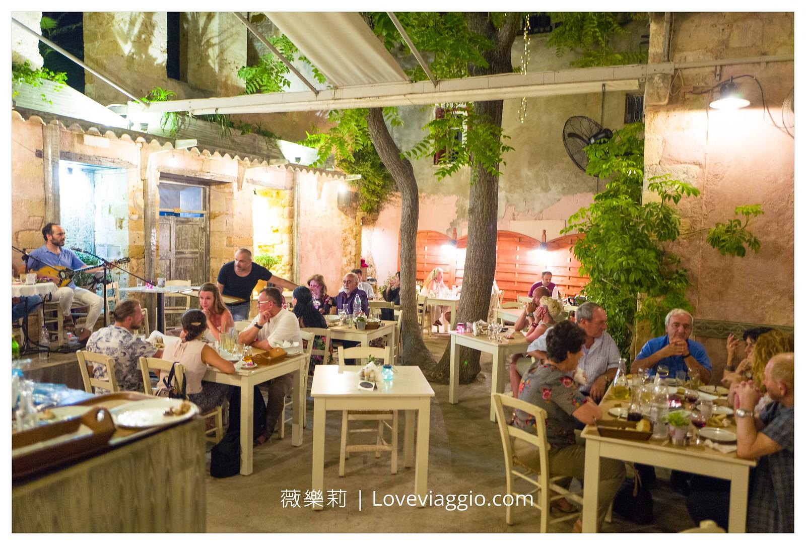 【希臘克里特島Crete】克里特島晚餐Mesostrato 希臘露天傳統音樂小酒館 @薇樂莉 Love Viaggio   旅行.生活.攝影