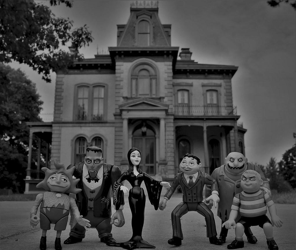 The Addams Family Grandmama Lurch Morticia Gomez Uncle Flickr