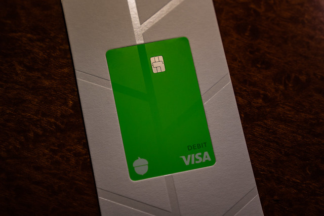 Acorns Spend Visa Debit Card