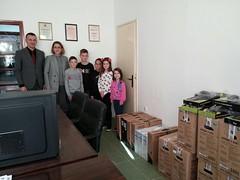 Rotary Донација 10 рачунара 26. 10. 2018.