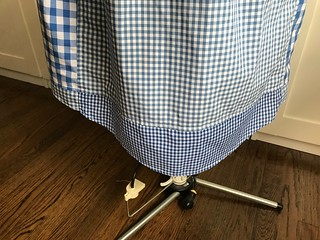shirt-shirtdress curved hem piecing   by Esperluette