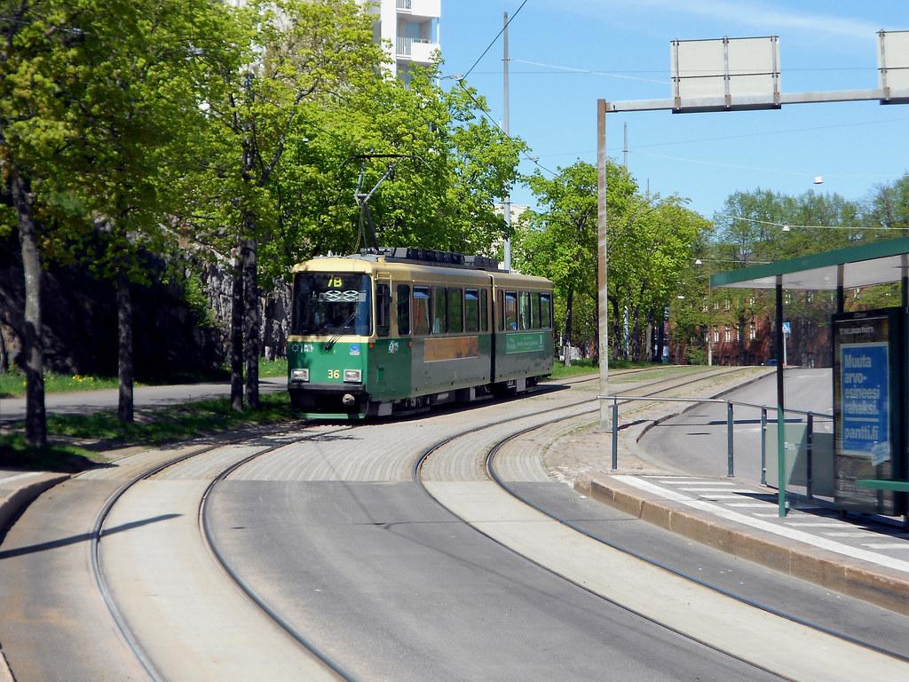 Хельсинки. Район Пасила.