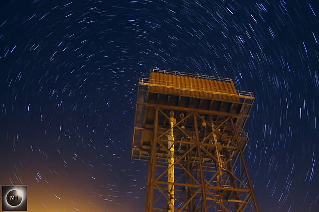 15 Minute Water Tower Star Trails 06/10/18