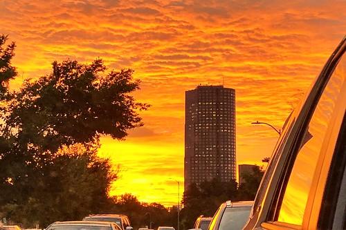 richardkeating sanfelipeplaza october 2018 dramatic sunrise texas houston orange iphone fav10 fav20 fav30 fav40