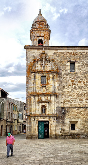 Cathedral at Melide, Spain
