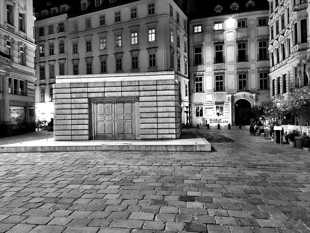 Judenplatz Holocaust Memorial, Vienna