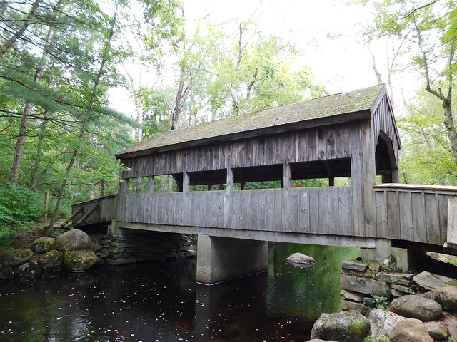Covered Bridge of the Eightmile River