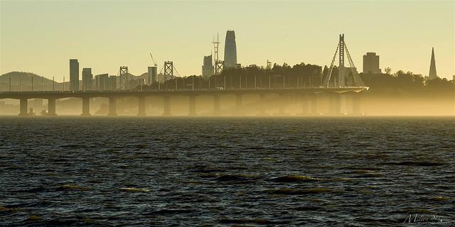 A Little Bit Mist on the S.F. Bay