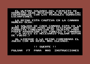 La Hormiga de Fuego (C64) | by Deep Fried Brains