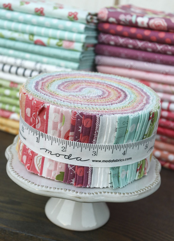 Lollipop Garden fabric