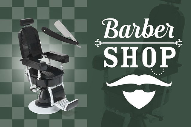 Lego barber shop - atana studio
