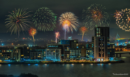 Kaboom, Fireworks over Cardiff