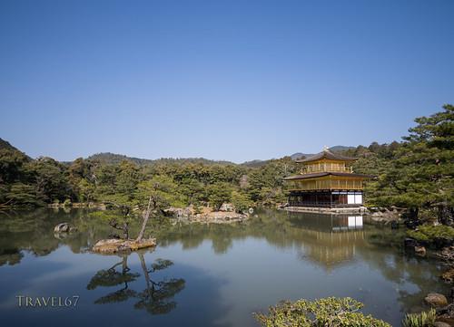 Blue Skies of Kinkakuji, Kyoto | by Travel 67