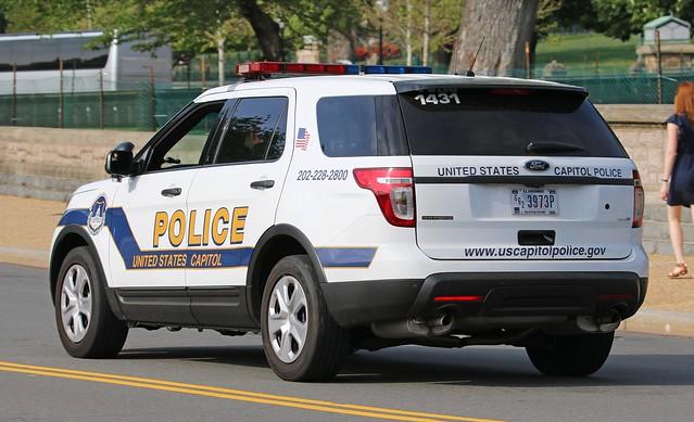 U.S. Capitol Police Ford Explorer Interceptor