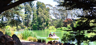 Boating in Golden Gate Park   by M McBey