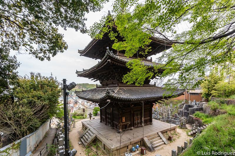 Pagoda del templo Tenneiji