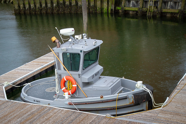 Is this the smallest vessel in the U.S. Navy?