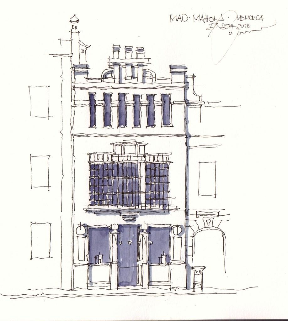 Mao Menorca Haus Art Deco Esp In The Old Town 27 9 2018