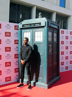 Tosin Cole, Doctor Who Series 11 World Premiere - Sheffield, September 2018