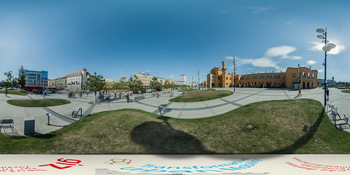 Poland: Public Square in Front of the Central Station, Wroclaw | by SUTP