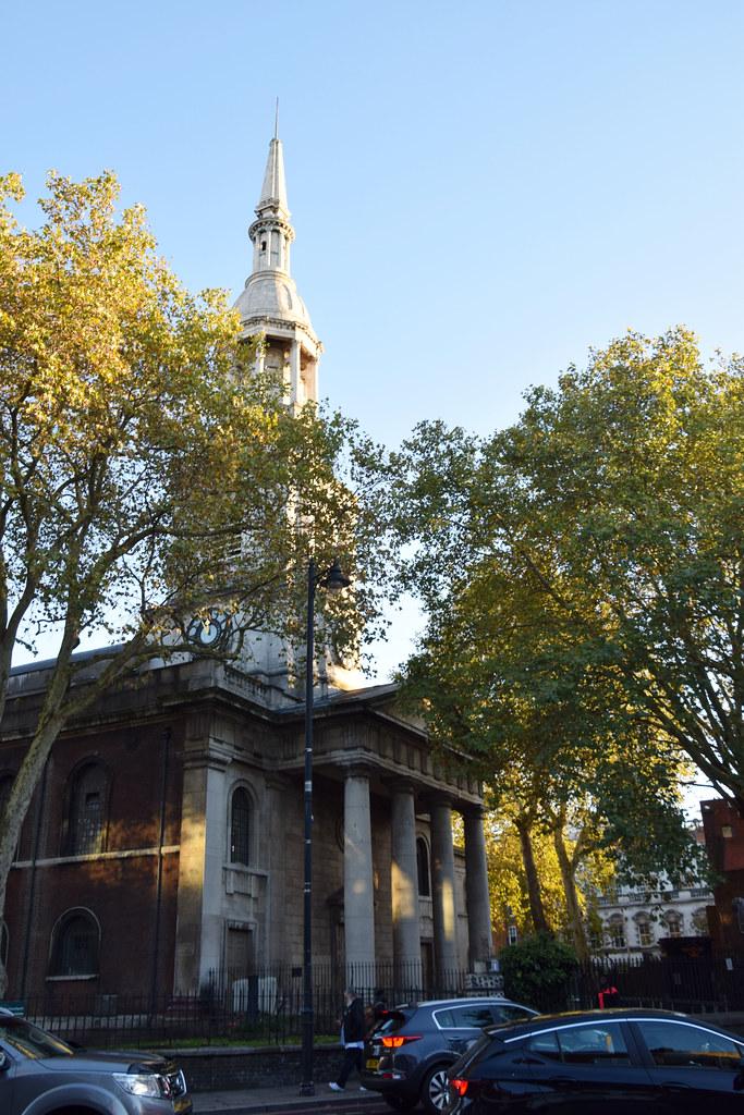 Shoreditch Church: DSC_2642 London St Leonard's Shoreditch Church Oranges And