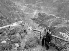 Kate and Steven, Colca Canyon