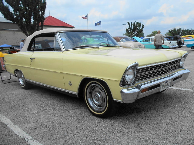 1962/67 Chevy II Nova SS Convertible | It's a '62, fitted wi… | Flickr