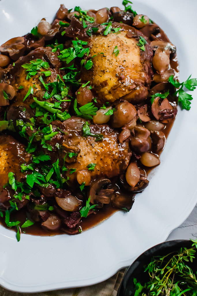 Step By Step Instructions For Julia Child S Coq Au Vin Wi Flickr