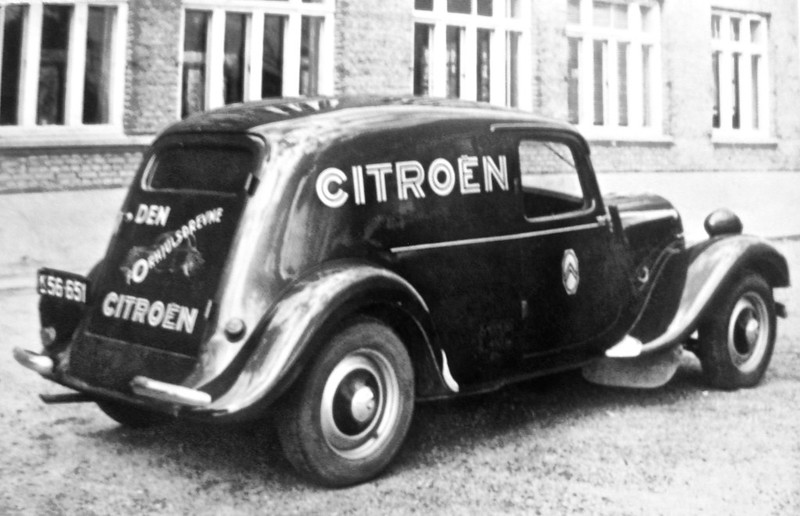1950 CITROËN 11BL Traction Avant Fourgonnette