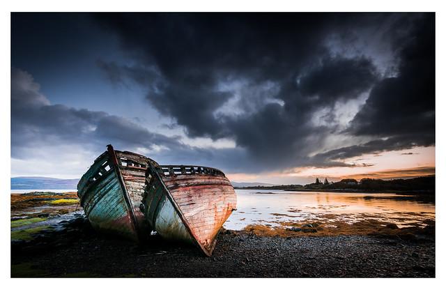 Sunrise over Salen Bay, Isle of Mull