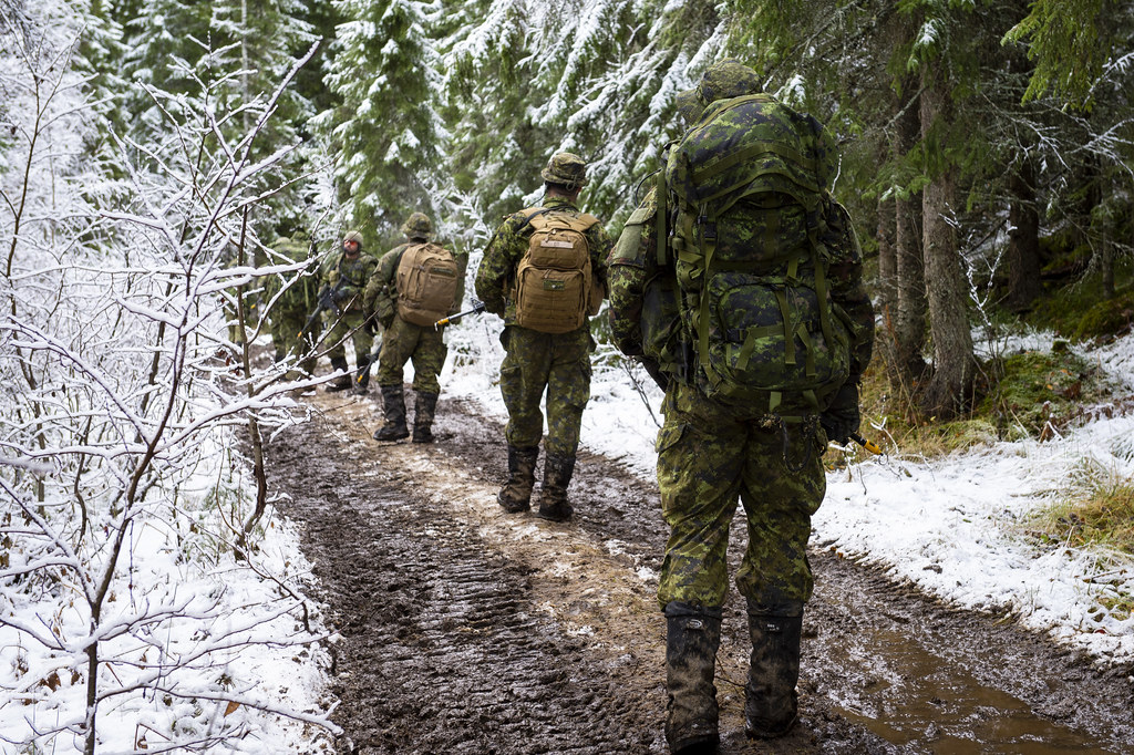 Canadian Armed Forces – Exercise Trident Juncture