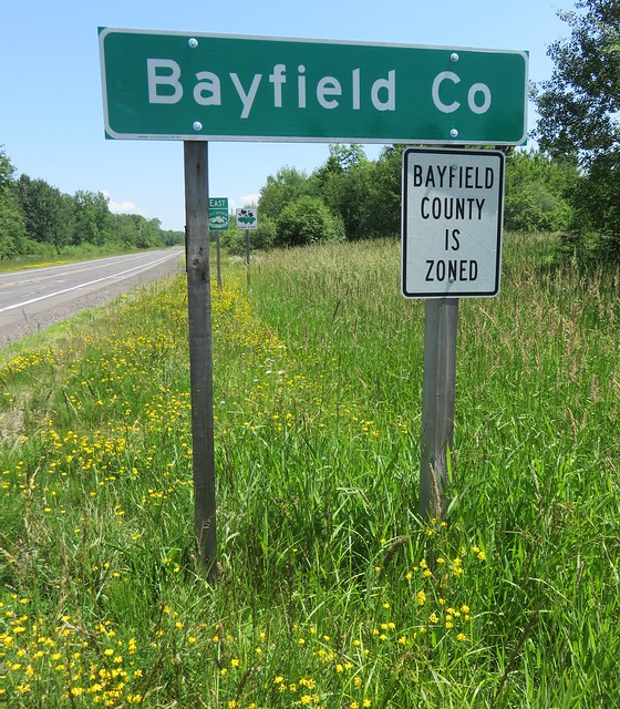Bayfield County Sign (Bayfield County, Wisconsin)