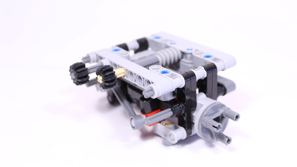 Lego® Technic 4x4 Axle with differential lock   Subscribe my…   Flickr