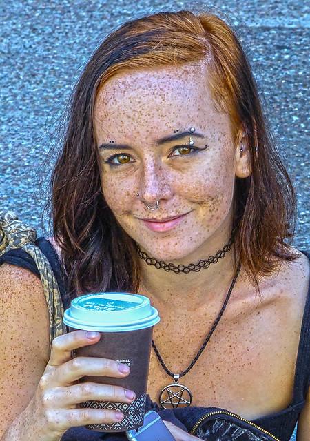 Freckle Faced Devil Worshipper