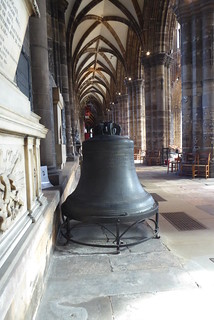 Former Bell, Glasgow Cathedral,  October 2018
